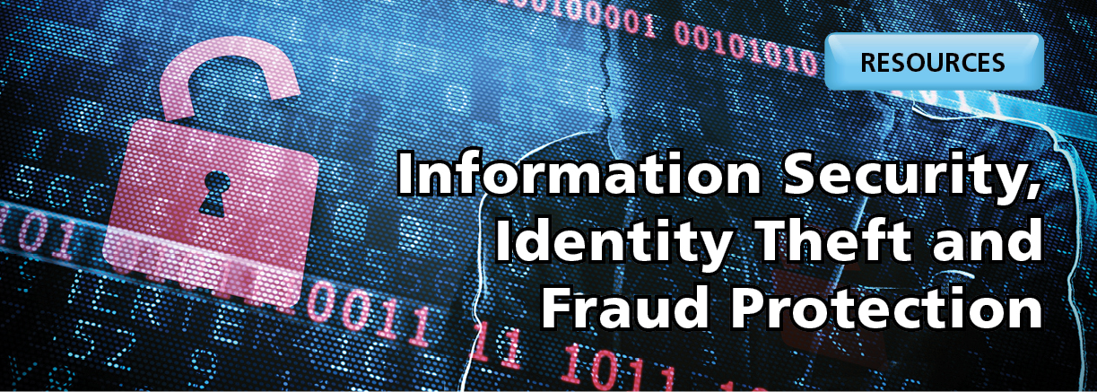 Information Security and Fraud Resources